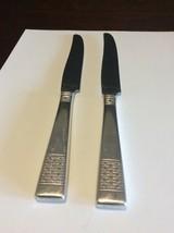 National Silverplate Calvalcade/Cavalcade Basket Weave Dinner Knife Lot ... - $12.99
