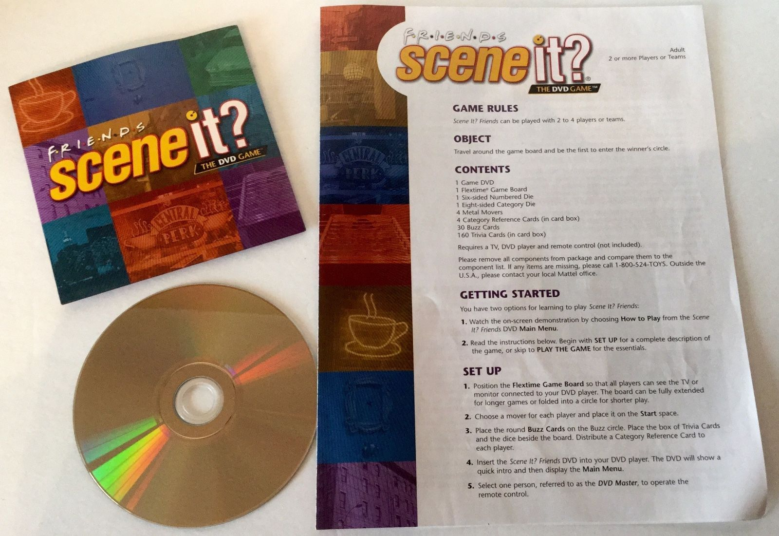 Friends scene it dvd game in fy1 bispham for £10. 00 for sale | shpock.
