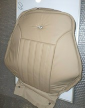 New OEM Leather Seat Cover Mercedes ML R CLASS 06-13 Front Upper Tan LH Designo - $158.40