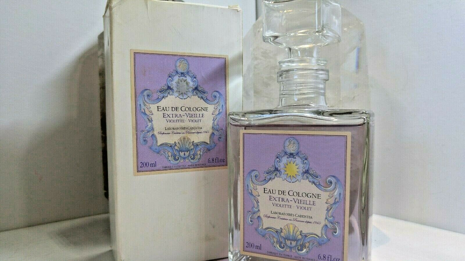 Primary image for Eau De Cologne Extra - Vielle Violette 6.8 Oz. By Laboratoires Cadentia