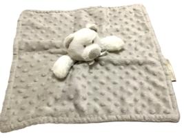 Baby Lovey Security Blanket Plush Teddy Bear Blankets & Beyond Gray Whit... - $39.59