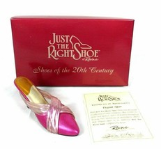 JTRS Just The Right Shoe by Raine ELEGANT AFFAIR #25049 1999 in Box with... - $12.37