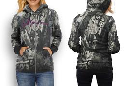 hoodie women zipper Volkswagen - $48.55+