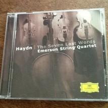Emerson String Quartet Haydn The Seven Last Words USED CD - $2.97