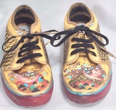 Custom Hand Painted Vans Off the Wall Sneakers Mens 9 Womens 10.5 21120 - $56.07