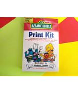 "1988 Inspired by "" Jim Henson"" Commodore | Atari ""Sesame Street Print Ki... - $26.00"