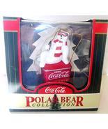 Coca-Cola Ornament: Polar Bear on Fountain Machine - $27.47