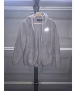New Balance Sz L Women's Full Zip Hooded Jacket fleece - $29.70