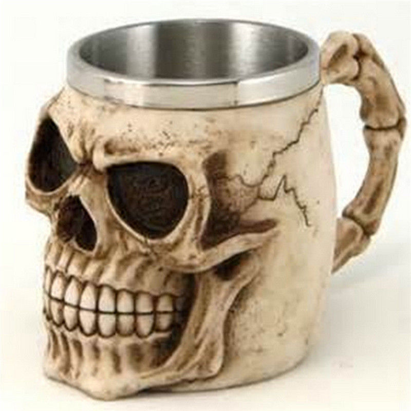 Tankard Alien Skeleton Mug Cup 11 And Items Skull Similar N8wyPmn0Ov
