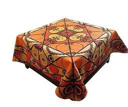 Panda Superstore Creative Unique Circle Pattern Cotton Tablecloth/Tea Table Clot - $30.63