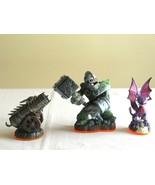 Skylanders Earth Crusher Undead Cynde Dargonfire Canon Giants Figure Act... - $9.99