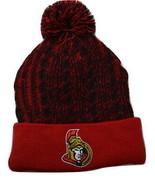 Ottawa Senators Fanatics Cable Knit Pom Pom NHL Hockey Beanie Winter Hat  - $20.85