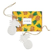Avon Pineapple Ornaments - $16.99