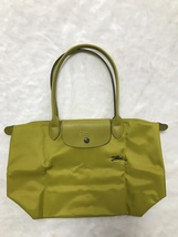 France Longchamp Le Pliage Club Collection Horse Embroidery Small Tote Acid - $98.00