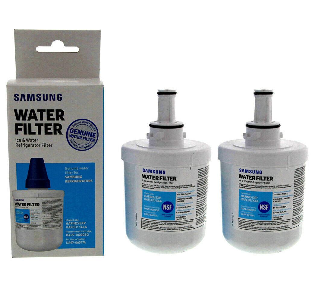 4PCS OEM Samsung DA29-00003G Aqua-Pure Plus Refrigerator Water Filter NEW