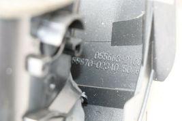 09-11 Toyota Corolla OEM Black Center Dash Top Trim Bezel Air Vents W/ Clock image 10