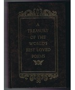 ORIGINAL Vintage 1973 Treasures of World's Best Loved Poems Hardcover Bo... - $23.19