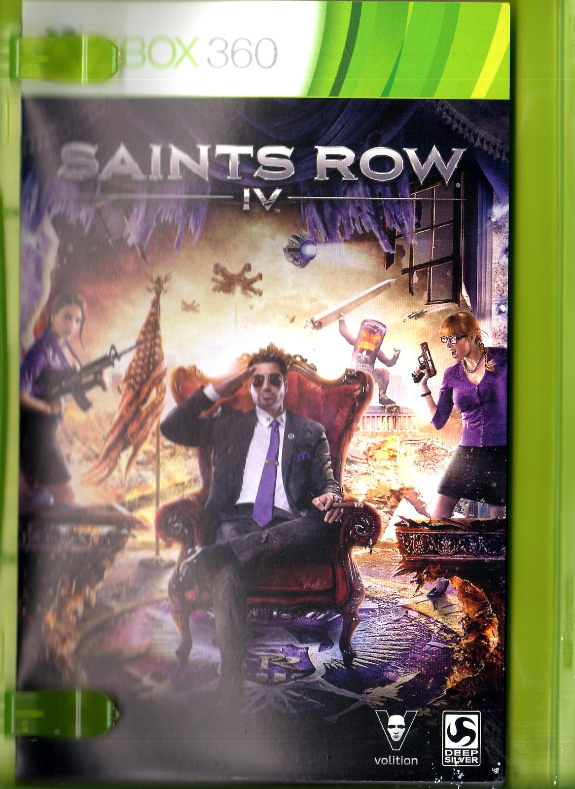 XBox 360 - Saints Row IV