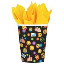 LOL Emoji 8 9 oz Hot Cold Paper Cups Birthday Party - $3.79