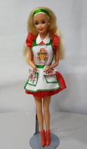 Mattel Barbie Christmas Holiday Treats Doll Vintage 1997 Deboxed  - $9.50