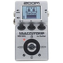 ZOOM MS-50G MultiStomp Guitar Pedal 100 FREE shipping Worldwide - $120.65