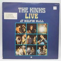 Vintage The Kinks Live At Kelvin Hall Record Album Vinyl LP ZL-502 - £4.58 GBP