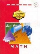 Lifepac Gold Mathematics Grade 1: Set of 10 [Apr 01, 2000] 1st Grade - $45.95