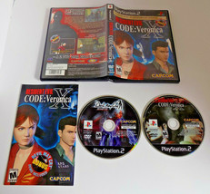 Resident Evil -- CODE: Veronica X 5th Anniversary CIB (Sony PlayStation 2, 2002) - $14.62