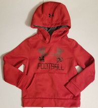 NWT Under Armour Boy's Storm1 Water Resistant Football Hoodie Size Extra... - $39.99