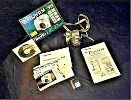 Fujifilm FinePix 2800 Zoom 2.0 MP Digital Camera Silver Vintage AA19-1389 image 2