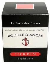 J. Herbin Fountn Pen Ink 30Ml Rouille D'ancre - $10.05