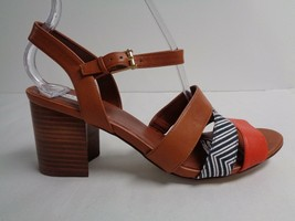 Cole Haan Size 9 M ANISA HIGH Brown Leather Dress Sandals New Womens Shoes - $137.61