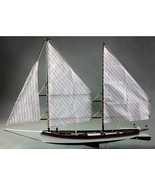 Wooden Ship Model 3d Sailboats Laser Cut Toy Collections Educational Hob... - $43.53