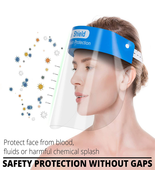 10 pcs Full Face Shield Protection Safety Visor Cover Face & Eye Cashier Helmet  - $14.99