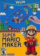 Super Mario Maker (Nintendo Wii U, 2015)GAME ONLY - $33.75