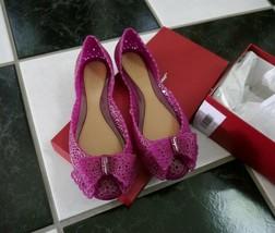 NIB 100% AUTH Salvatore Ferragamo Nilly Jelly Flat Sandals $270 Sz 7M - $176.22