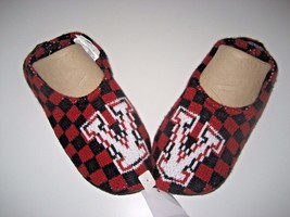 Vans Shoes Slippin Checkerboard Red Black Slippers Small Medium NWT Ship... - $18.81