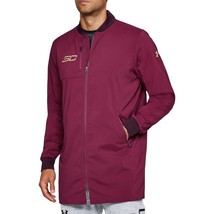 Under Armour Mens SC30 Curry Life Long Range Bomber Jacket 1304468-923 M... - $53.95
