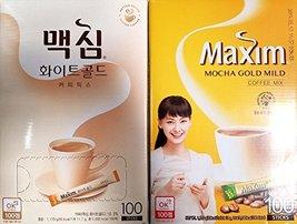 Maxim Coffee Mix, Instant Coffee (11.8 g / pk) (Combo Pack, Mocha Gold x... - $49.49