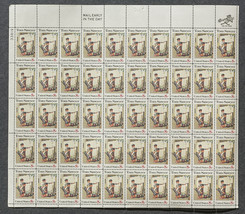 Tom Sawyer, Sheet of 8 cent stamps, 50 stamps - $7.50