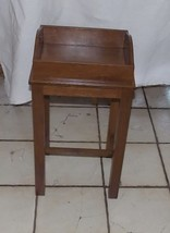 Mahogany Side Tray Table / End Table  (RP) - $249.00