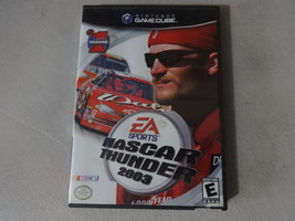 EUC NASCAR Thunder 2003 - Nintendo Gamecube No Manual Free Ship - $10.88