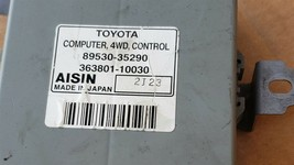 TOYOTA 4RUNNER transfer case 4x4 control module 89530-35290 image 2