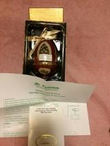 Mr CHRISTMAS--MUSICAL Egg ORNAMENT--VALERIE Parr HILL---FREE SHIP--NEW - $20.56