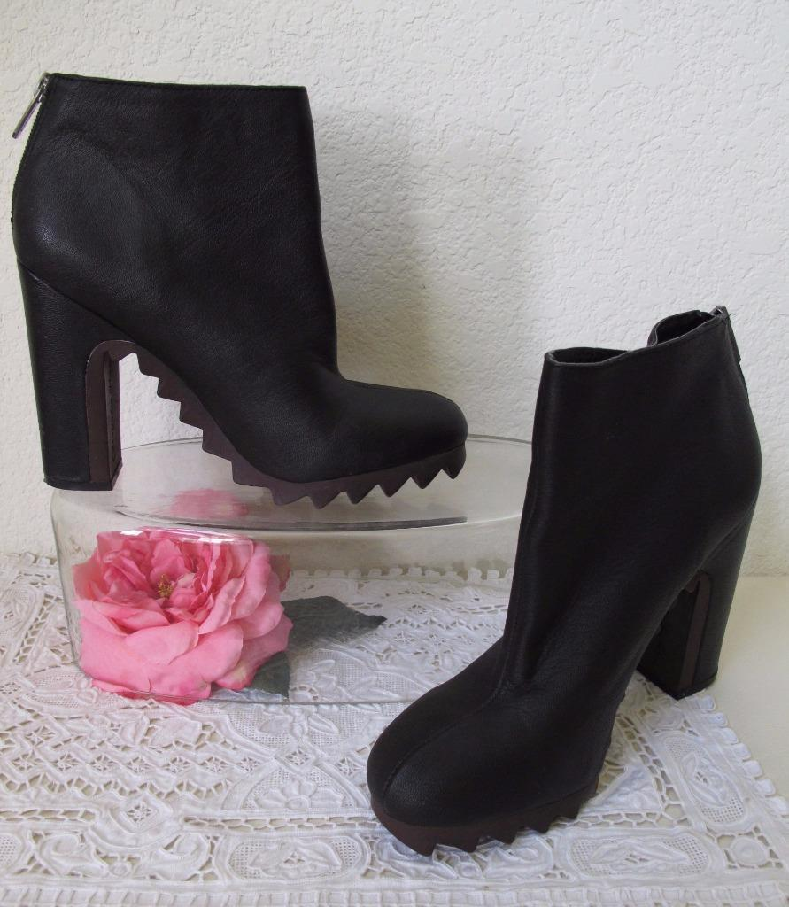 29f7190eb ... Sam Edelman Circus Extreme Tread Kensley Bootie Ankle Boot 8.5M US Black  Leather ...