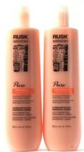 2 Ct Rusk Sensories 13.5 Oz Pure Color Protecting Mandarin Jasmine Condi... - $30.99