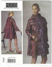Vogue 1441 Koos Van Den Akker Appliqued Coat Pattern Misses Size XS Smal... - $14.69