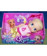 """Glimma Girlz SWEETHEARTS Baby Doll in Pink Romper11""""L New - $16.88"""