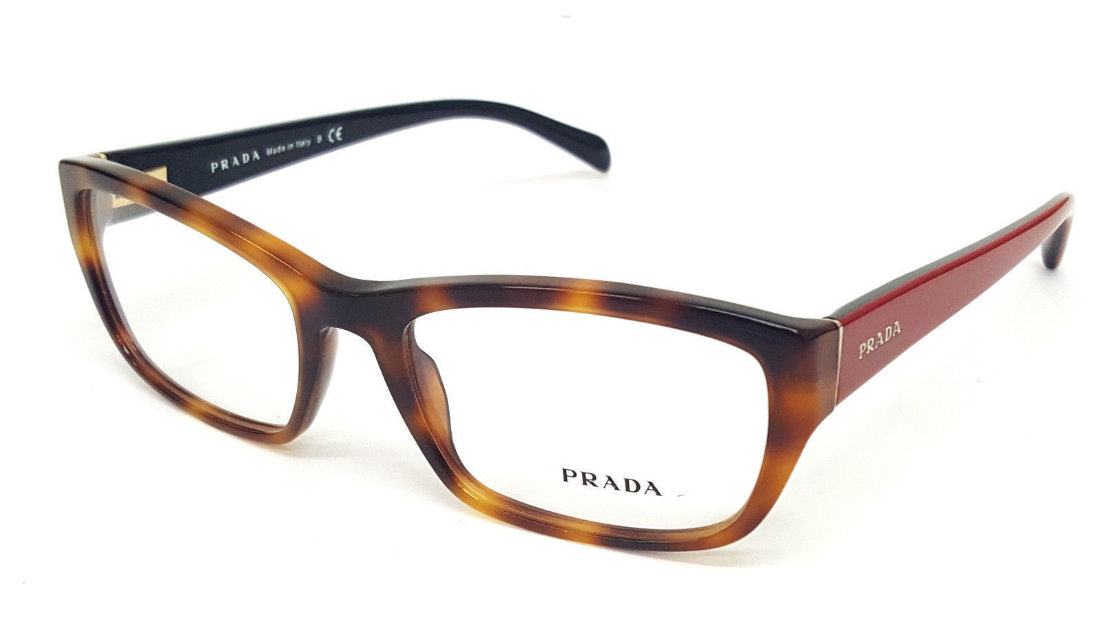 0ebb6a88256a PRADA VPR 18O TKR-1O1 Tortoise Red and 50 similar items