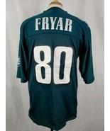 Vintage Reebok Irving Fryar #80 Jersey Sz 48 Philadelphia Eagles Reversi... - $20.49